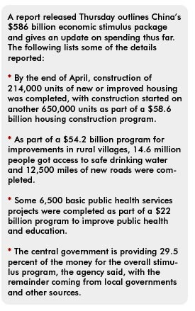 The Report By National Development Reform Commission Chinas Main Planning Agency Was First Detailed Outline Of How China Intends To Spend