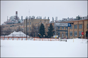 The idle General Motors plant in Janesville. (AP Photo/Andy Manis)