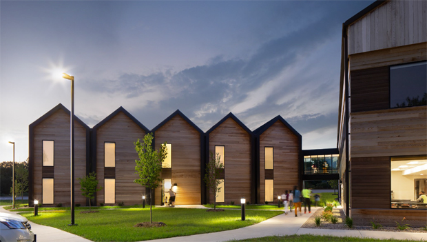 Freedom House was recently awarded the 2021 U.S. Wood Design - Jury's Choice Award from WoodWorks-Wood Products Council.