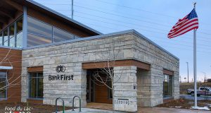 Bank First National (Oshkosh) earned a Best of Show award at the 2021.     The Wisconsin Masonry Alliance